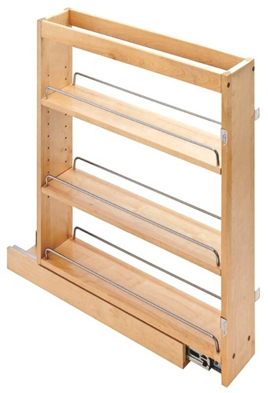 Pull Out Kitchen Organizer Adjustable Shelf Organizer