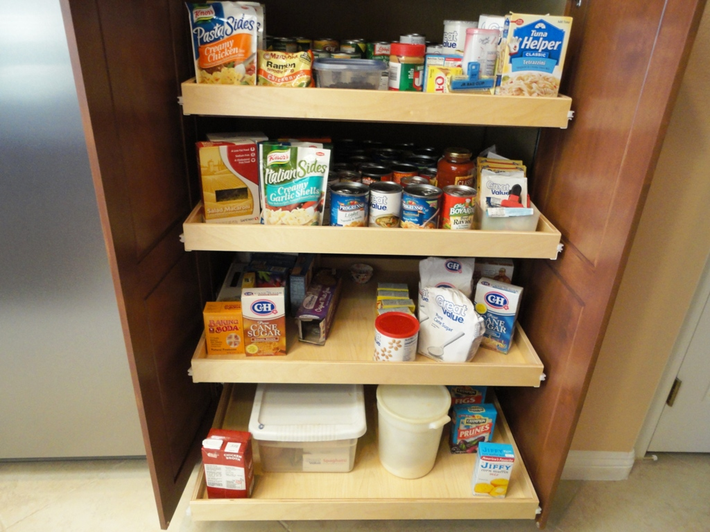 Pantry Shelves That Slide