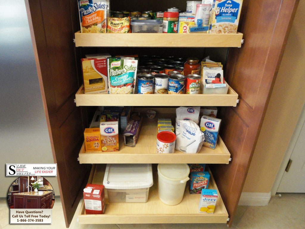 Pull Out Cupboard Shelves