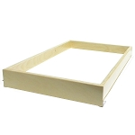 Pull Out Kitchen Shelf 2 3 Eights Tall For 16 Inch to 26 Inch Wide Openings
