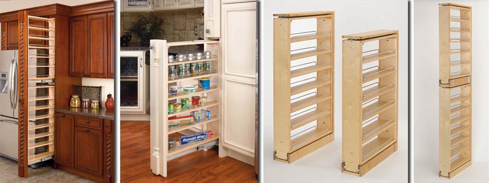 Pull Out Pantry Shelves - Slide Out Shelves LLC
