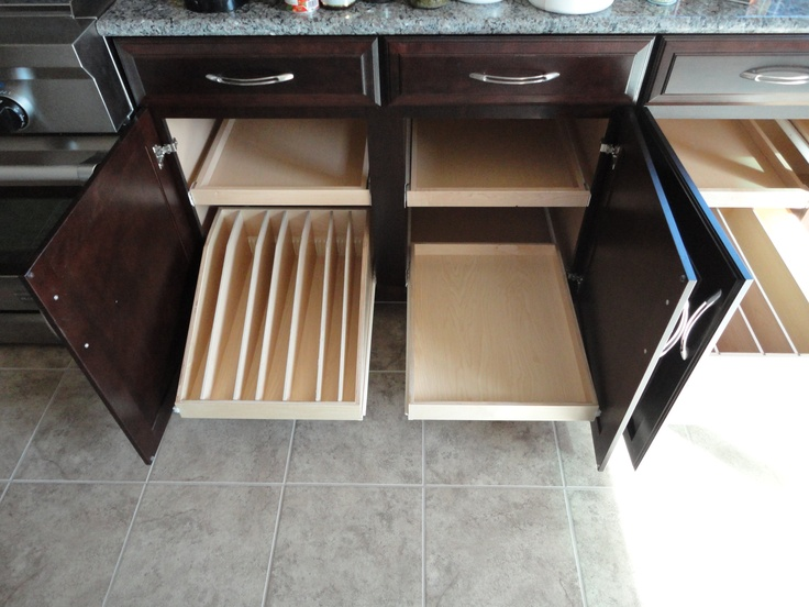 Pull Out Shelves Kitchen Cabinets