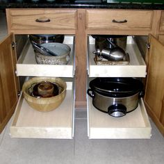Pull Out Undercabinet Drawers