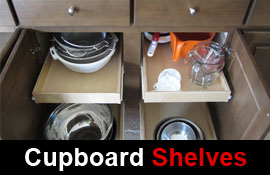 Shop Pull Out Cupboard Shelves