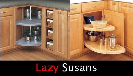 Pull Out Lazy Susan Cabinets