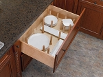 Sliding Drawer Peg Organizer Large