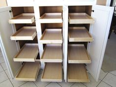 Sliding Shelves Kitchen