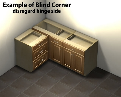 Kitchen Corner Base Cabinets With Drawers