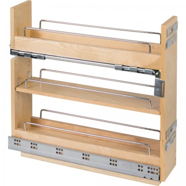 sc 1 st  Slide Out Shelves LLC & Drawer Base Cabinet No Wiggle Pull Out Spice Rack