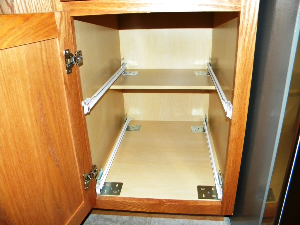 Kitchen Cabinet Pull Out Shelves | Pull Out Shelves For Kitchen Cabinets,  Roll Out Cabinet Shelving