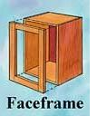 Pull out shelves for face frame cabinets