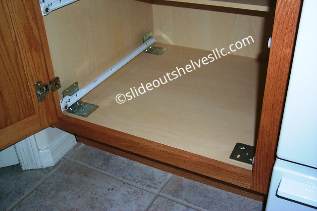 installing pull out shelves in kitchen cabinets pull outs installation guide 17928