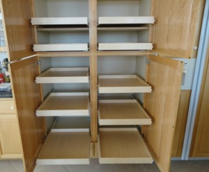 Retrofit Pantry Shelves For Pull Outs