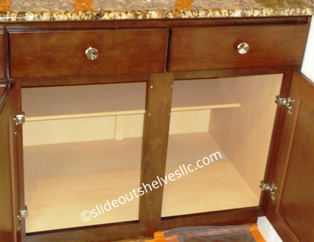 Removing Center Stile Cabinet Face Frame For Wide Shelves