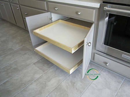 kitchen cabinets with pull out shelves pull out shelf for kitchen cabinets 26 36 wide 21443