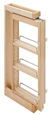 Pull Out Spice Rack Upper Kitchen Cabinet Storage 3 Quot