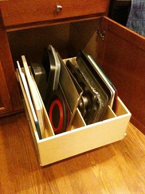 Pull Out Bin Drawer