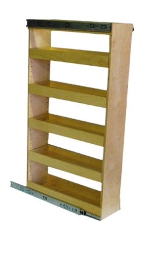 Pantry Pull Out Shelf Unit | 6 1/2-8 1/2 Openings
