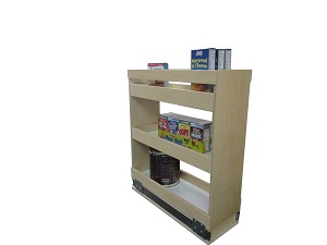 Pull Out Spice Rack 5 6 Inch Openings
